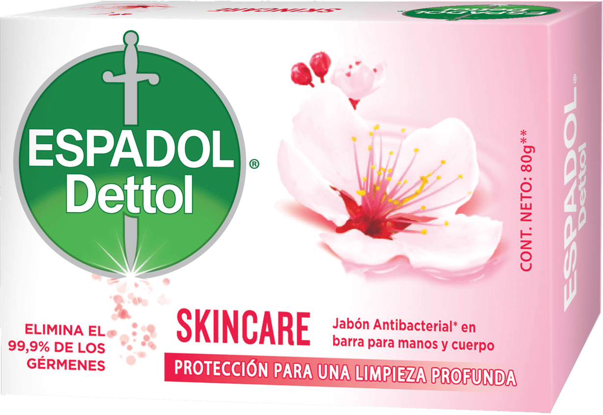 Espadol Dettol Jabón en Barra x1 Skincare