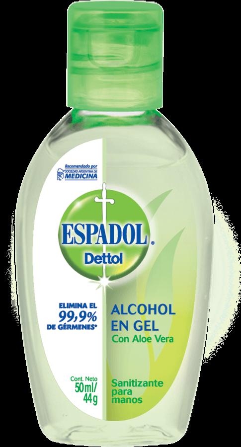Espadol Dettol Alcohol En Gel Aloe Vera