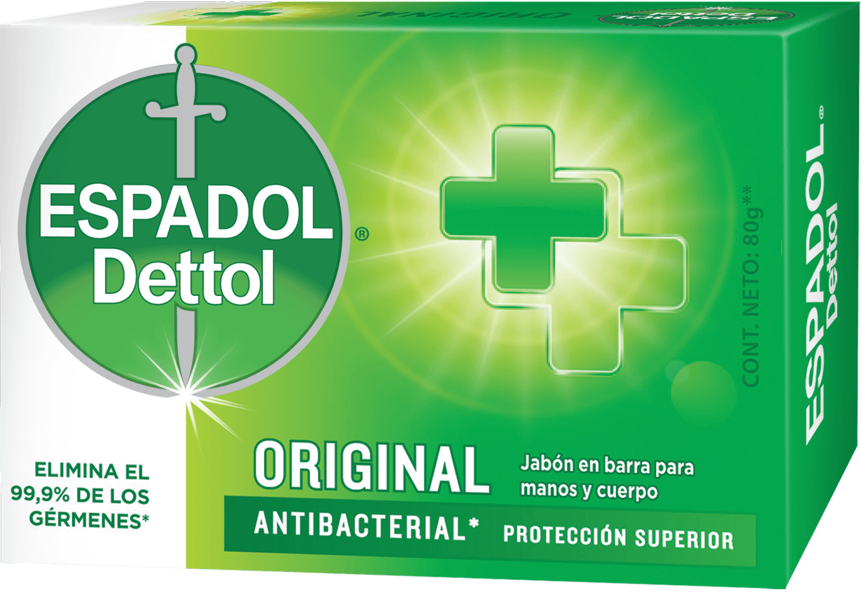 Espadol Dettol Jabón en Barra x1 Original