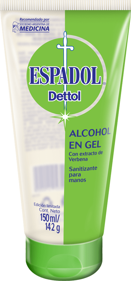 Espadol Dettol Alcohol En Gel Original